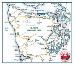 Map - Crabfest