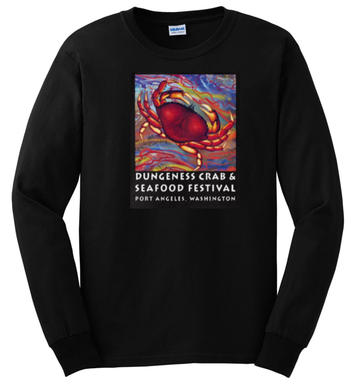 de38a804 T-Shirt (Long Sleeve) – CrabFest-Olympic Peninsula